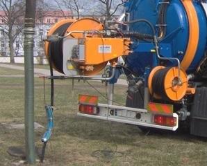 Ogłoszenie o udzieleniu zamówienia – Zadanie XIII: Zakup pojazdu komunalnego – urządzenia ssąco – płuczącego do płukania, czyszczenia i udrożnienia kanalizacji sanitarnej.